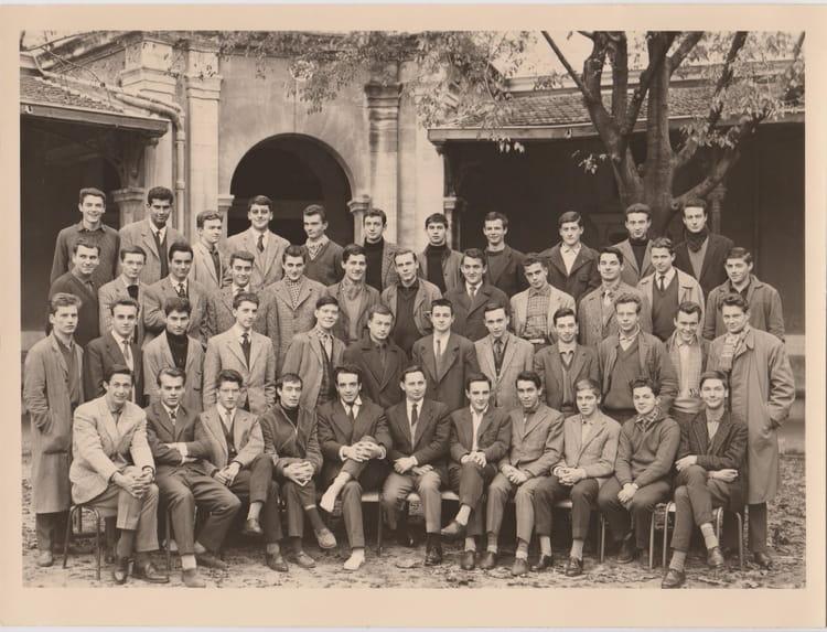 Photo de classe lyc e de n mes 1959 60 classe de philo de for Lycee alphonse daudet