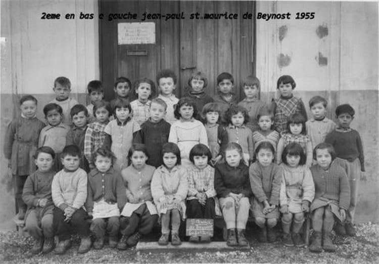 Photo de classe maternelle de 1955 ecole jacques prevert - Piscine saint maurice de beynost ...
