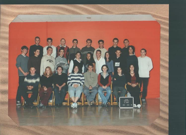 photo de classe terminale stae de 2002 lyc e agricole rennes le rheu copains d 39 avant. Black Bedroom Furniture Sets. Home Design Ideas