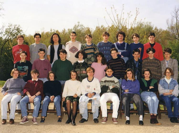 photo de classe classe de 3 176 3 233 e 91 92 de 1992 coll 232 ge notre dame de la salle copains d avant