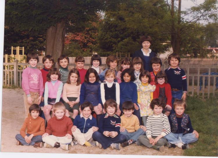 Photo de classe CP j'ai 6 ans de 1977, Ecole Ferdinand Buisson (Sainte Genevieve Des Bois  # Auto Ecole Sainte Genevieve Des Bois