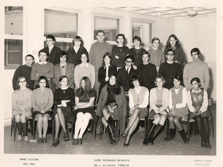 Photo de classe 1 re b2 de 1967 lyc e jean lur at for Pronote college jean moulin salon