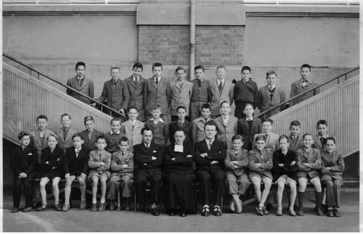 photo de classe 7 233 me institution de la salle metz de 1954 institution de la salle copains d avant
