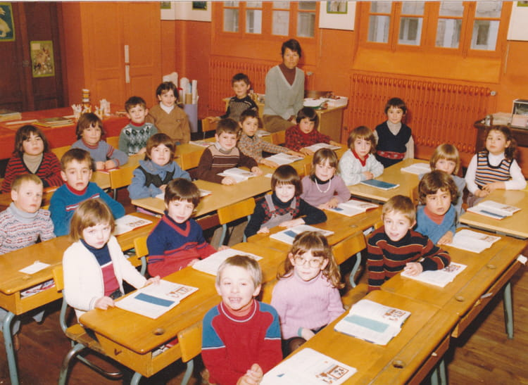 photo de classe cp de 1980 ecole de guigne beaulieu les loches copains d 39 avant. Black Bedroom Furniture Sets. Home Design Ideas