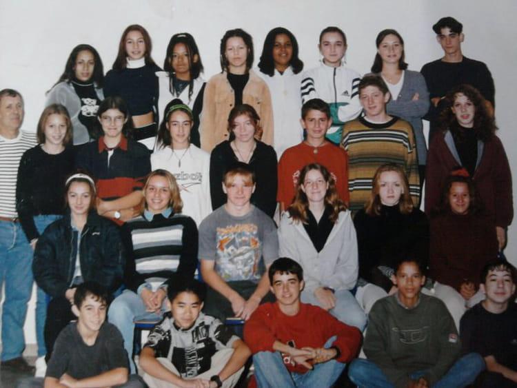 photo de classe 3 eme 3 de 1998 coll 232 ge mont duplan