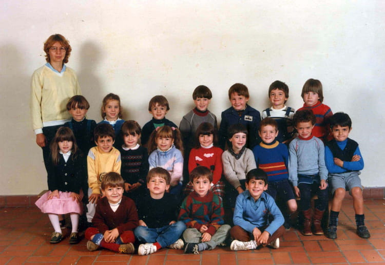 photo de classe ce1 de 1985 ecole sainte procule rodez copains d 39 avant. Black Bedroom Furniture Sets. Home Design Ideas