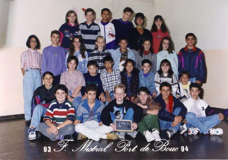 Photo de classe college de port de bouc de 1994 coll ge fr d ric mistral copains d 39 avant - College frederic mistral port de bouc ...
