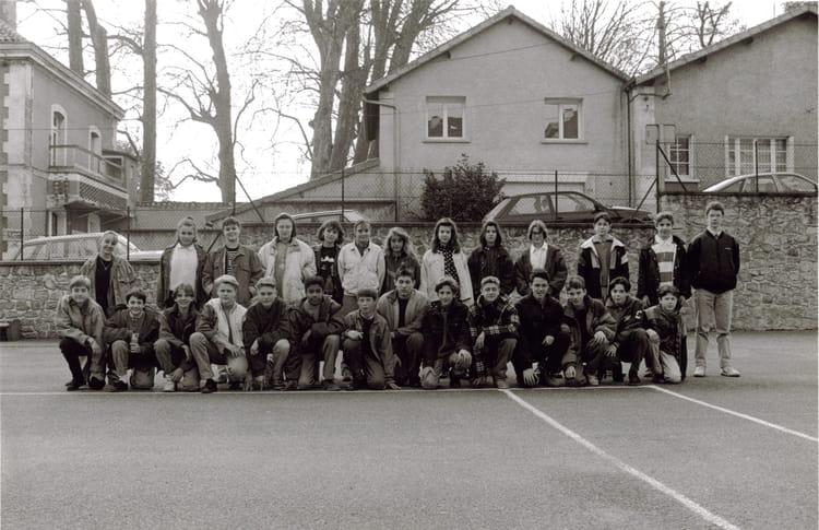 Photo de classe 4 me c de 1992 coll ge du jardin des plantes copains d 39 avant - College du jardin des plantes ...
