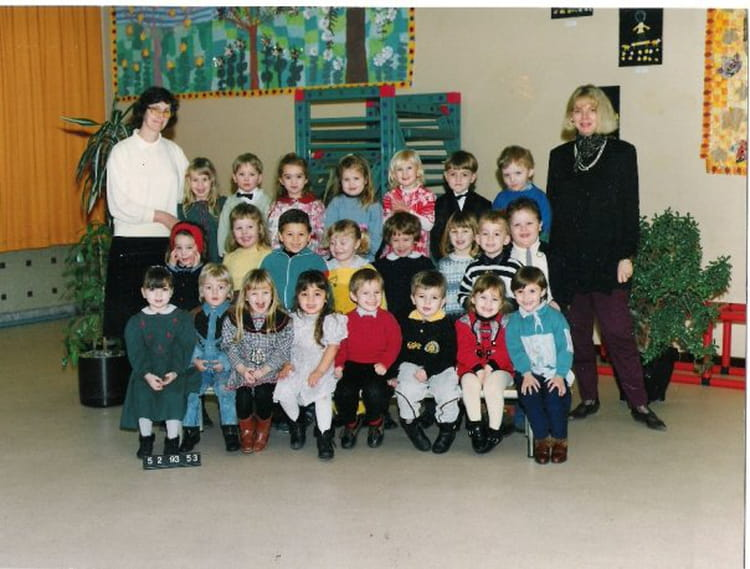 Photo de classe deuxi me maternelle de 1994 albert samain for Albert samain la cuisine