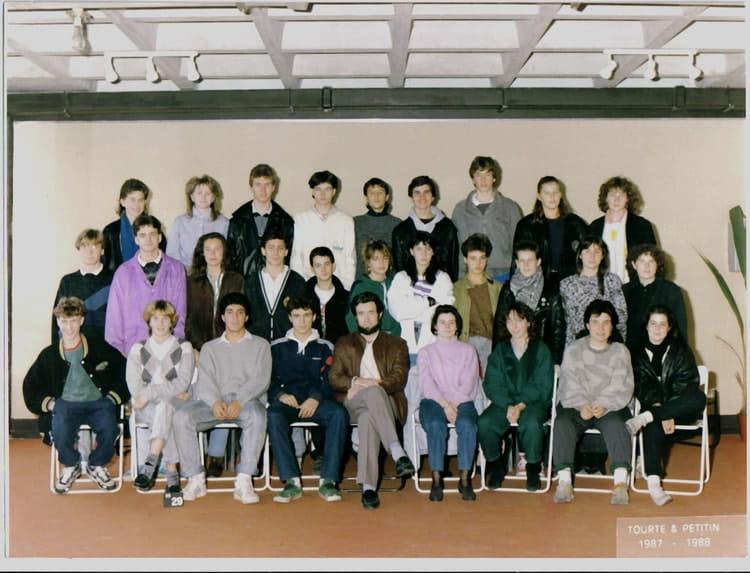 photo de classe seconde de 1987 lyc e albert einstein copains d 39 avant. Black Bedroom Furniture Sets. Home Design Ideas