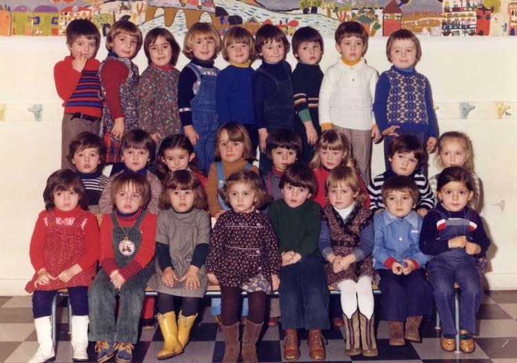 photo de classe maternelle de 1977 ecole nord libourne copains d 39 avant. Black Bedroom Furniture Sets. Home Design Ideas