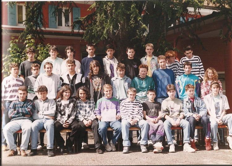 photo de classe 2nd tsa de 1992 lyc 233 e portes de l oisans copains d avant