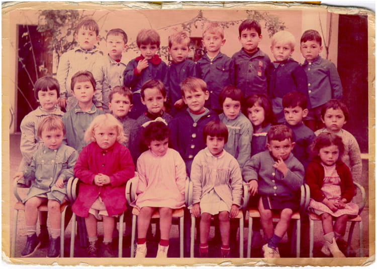 photo de classe maternelle de 1963 ecole maurice fognet marcheprime copains d 39 avant. Black Bedroom Furniture Sets. Home Design Ideas