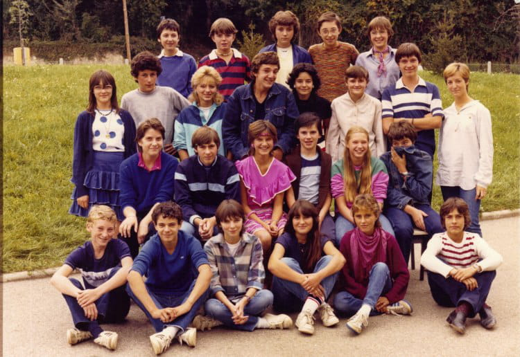 Photo de classe 3 me 1983 louis lachenal de 1983 coll ge for Pronote college jean moulin salon