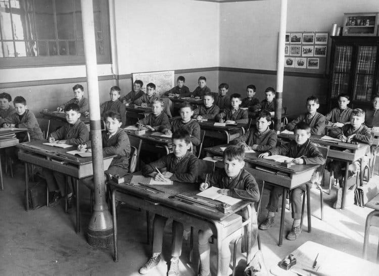 Photo de classe cm1 de 1958 ecole du vieux moulin fourchambault copains d 39 avant - Fermob luxembourg saldi ...
