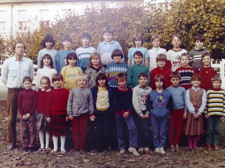 Photo de classe cm1 1986 1987 ecole primaire de pont sur - Cours de cuisine yonne ...