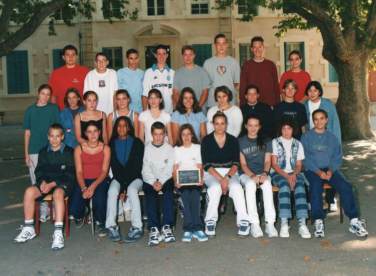 Photo de classe 3 me3 00 01 de 2000 coll ge viala lacoste copains d 39 avant - Lycee viala lacoste salon de provence ...