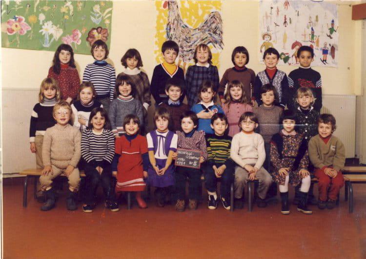 photo de classe classe cp de 1980 ecole primaire de neuville neuville sur sarthe copains d. Black Bedroom Furniture Sets. Home Design Ideas