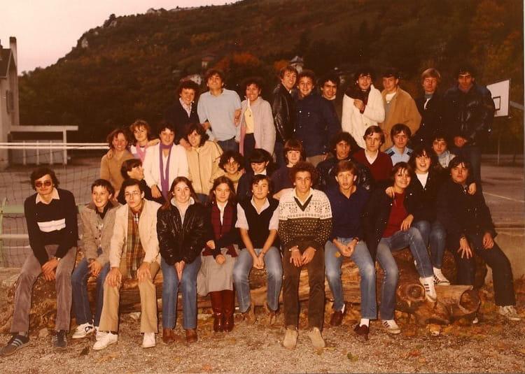 Photo de classe 1G2 de 1982, Itecboisfleury  Copains davant ~ Itec Bois Fleury