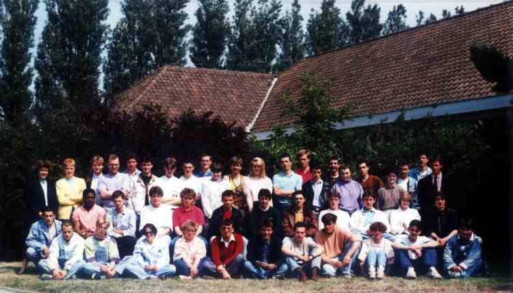 Photo de classe cap cuisine et salle 1990 de 1990 cfa de la chambre de m tiers du nord - Chambre des metiers du nord ...