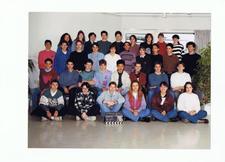 Photo de classe 1 re s2 1992 1993 lyc e l onard de vinci - Lycee leonard de vinci montpellier ...