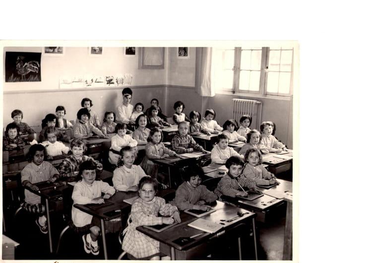 photo de classe cp de 1963 ecole primaire du plan copains d 39 avant. Black Bedroom Furniture Sets. Home Design Ideas