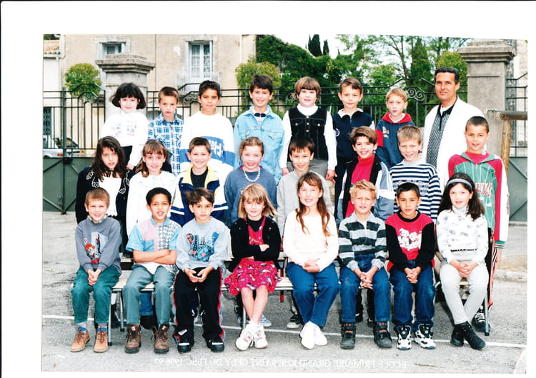 Photo de classe ce1 de 1996 ecole de la grand rue saint - Salon de la chasse saint gely du fesc ...