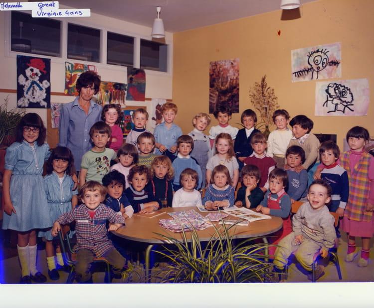 photo de classe classe maternelle gerzat de 1980 ecole jules ferry copains d 39 avant. Black Bedroom Furniture Sets. Home Design Ideas