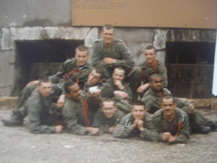 photo de classe stage commando pont st vincent de 1986  43