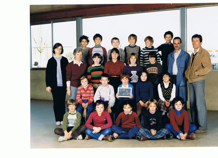 photo de classe cm2 de 1982 ecole bleue copains d 39 avant. Black Bedroom Furniture Sets. Home Design Ideas
