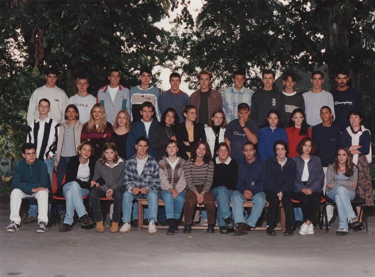 Photo de classe 2dn STT 1997  1998 de 1998, Itec  ~ Itec Bois Fleury