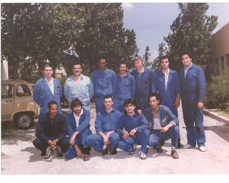 Photo de classe classe ra2 afpa istres de 1988 afpa for Afpa istres formation cuisine