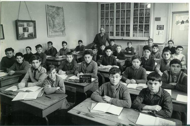 Photo de classe classe de mr cardilette de 1962 ceg ann es 60 70 copains d 39 avant - Photo annee 70 ...
