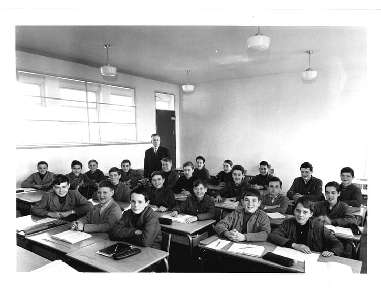 1966 - Classe de 4AB - Lycée joseph marie carriat