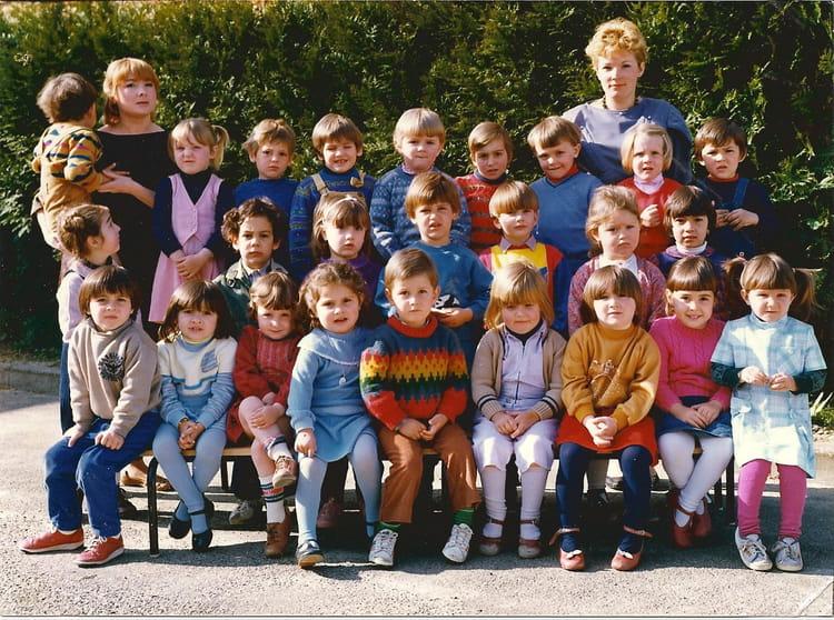 photo de classe maternelle de 1984 ecole jean mace tonneins copains d 39 avant. Black Bedroom Furniture Sets. Home Design Ideas