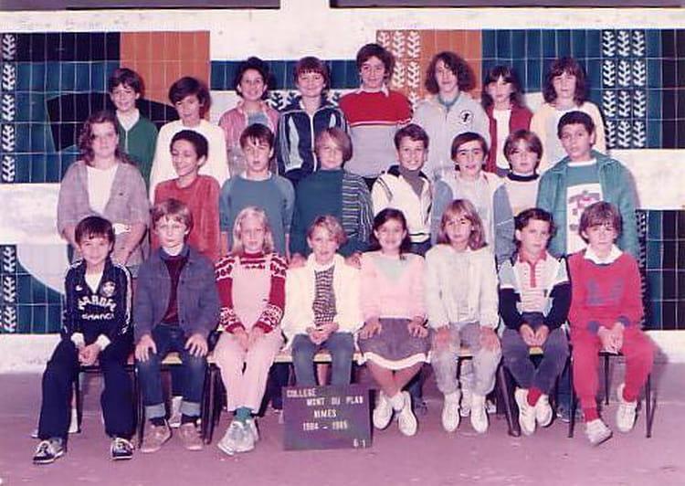 photo de classe 6 176 1 de 1984 coll 232 ge mont duplan copains
