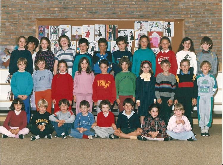 Photo de classe cmi de 1987 ecole philippe soupault - Lycee craponne salon ...
