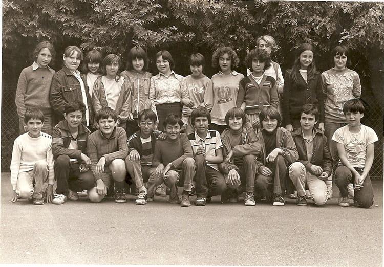 Photo de classe classe de 6ieme de 1980 coll ge du jardin des plantes copains d 39 avant - College du jardin des plantes ...