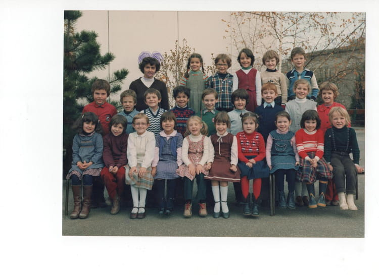 photo de classe cp de 1979 ecole gatelliet melun copains d 39 avant. Black Bedroom Furniture Sets. Home Design Ideas