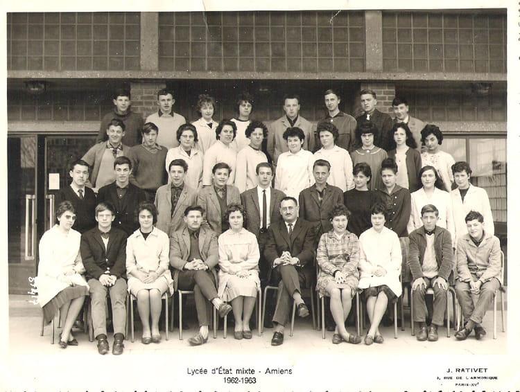 photo de classe seconde m 39 6 de 1962 lyc e louis thuillier copains d 39 avant. Black Bedroom Furniture Sets. Home Design Ideas