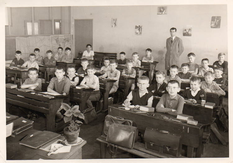 photo de classe cole de gar ons longeville les st avold de 1963 ecole du centre copains d 39 avant. Black Bedroom Furniture Sets. Home Design Ideas