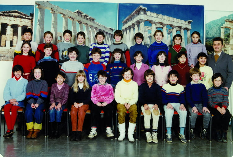 photo de classe cm2 de 1984 ecole le tricot villefranche de rouergue copains d 39 avant. Black Bedroom Furniture Sets. Home Design Ideas