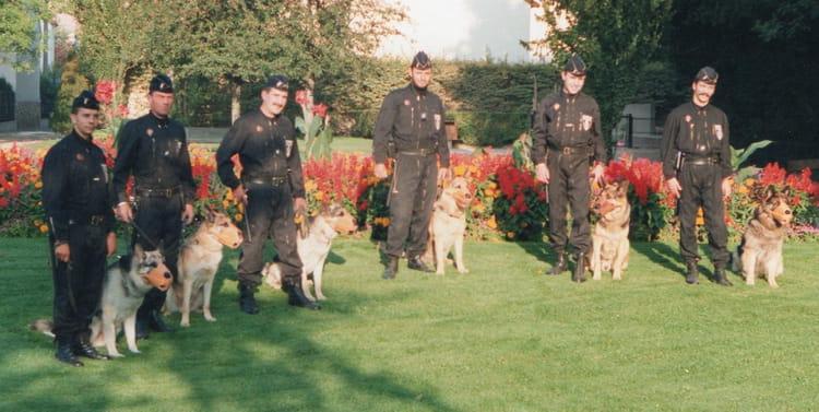 La brigade canine de lépoque  Police municipale daulnay sous bois ~ Police Municipale Pavillons Sous Bois