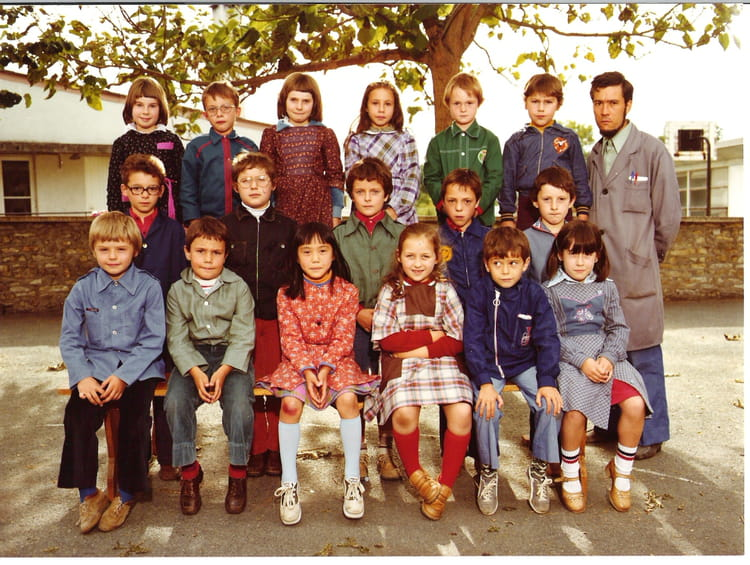 photo de classe classe de ce1 de 1978 ecole jean guillebaud neuvy saint sepulchre copains d. Black Bedroom Furniture Sets. Home Design Ideas