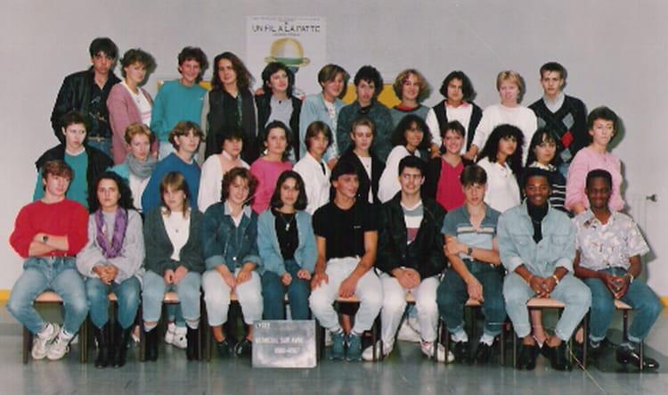 photo de classe 1ereg de 1986 lyc 233 e porte de normandie copains d avant