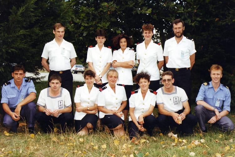 photo de classe bat photographe audiovisuel de 1991, marine
