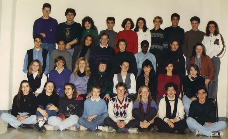 photo de classe classe de seconde de 1989 lyc e jean paul sartre copains d 39 avant. Black Bedroom Furniture Sets. Home Design Ideas