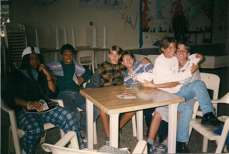 photo de classe petit groupe de 1996 camping grand crohot maison de la gendarmerie copains. Black Bedroom Furniture Sets. Home Design Ideas