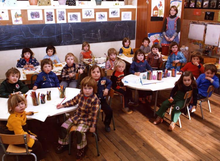 Photo de classe classe de maternelle de 1975 ecole du - Beaufort sur doron office du tourisme ...
