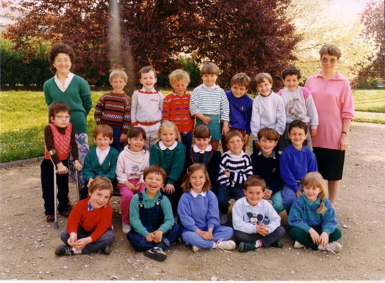 photo de classe maternelle classe des grands de 1988 ecole charles p guy saint dizier. Black Bedroom Furniture Sets. Home Design Ideas
